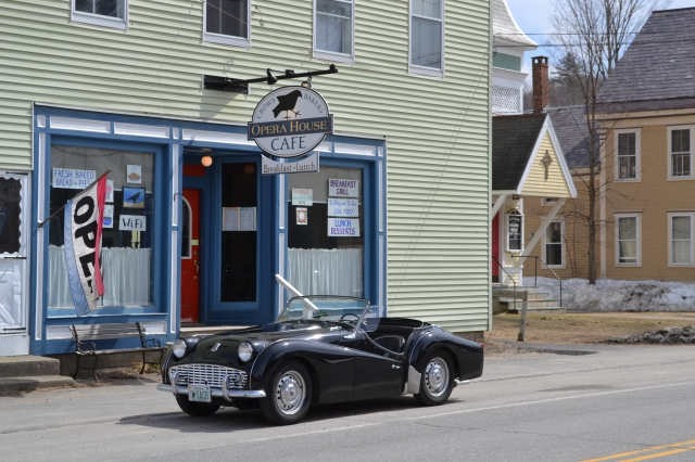 Proctorsville, VT - Crows Bakery and Cafe - April 10, 2011