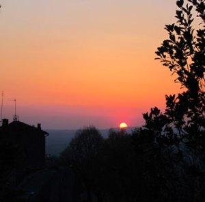 Good night from Cortona