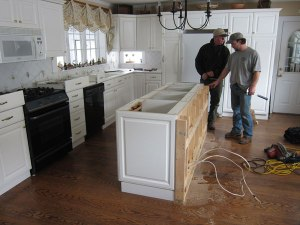 Readying the Kitchen