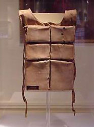 Mrs. Astor's Lifejacket - but sadly not here for me to see
