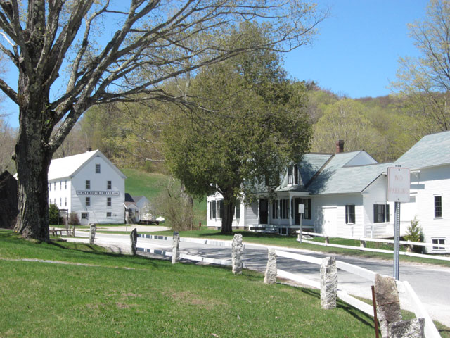Peaceful Plymouth Notch, VT with Calvin Coolidge's home and site of his swearing in.
