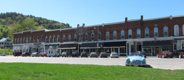 And, this is looking back at downtown South Royalton, VT.