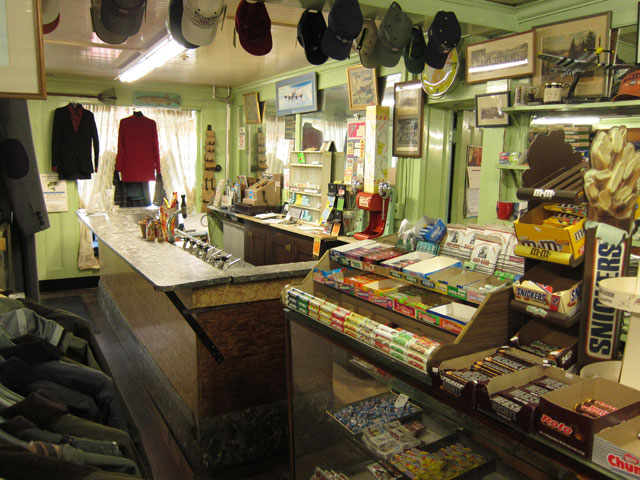 A typical Millerton, NY store