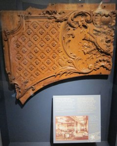 TITANIC CARVED WOOD RECOVERED FROM THE SEA