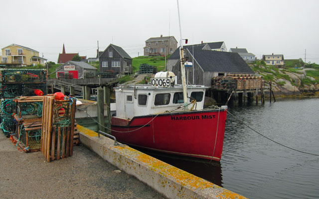 Dock at Peggy's Cove