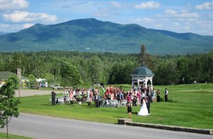 Saturday wedding at the Mountain View Grand.