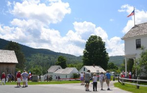 The Center of Plymouth Notch, VT.