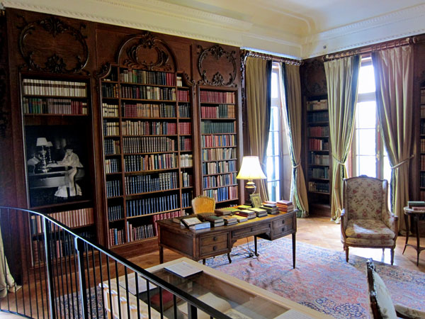 Edith Wharton's Library. Original woodwork, and her original books acquired in 2006 from a noted book dealer (not me).