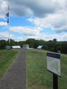Bennington Battlefield. Small spot on top of this hill.