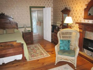 My room at The Rufus Tanner House, but check their website for more.
