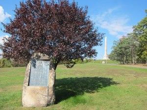 New Hampshire's 1929 plaque commemorating it's native son, General Sullivan.