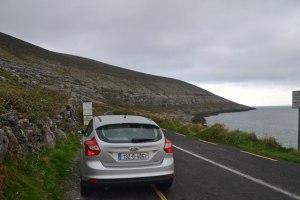 Looking toward Black Head along Galway Bay