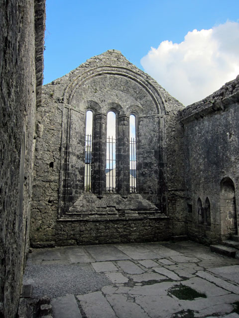 Inside the Kilfenora Cathedral