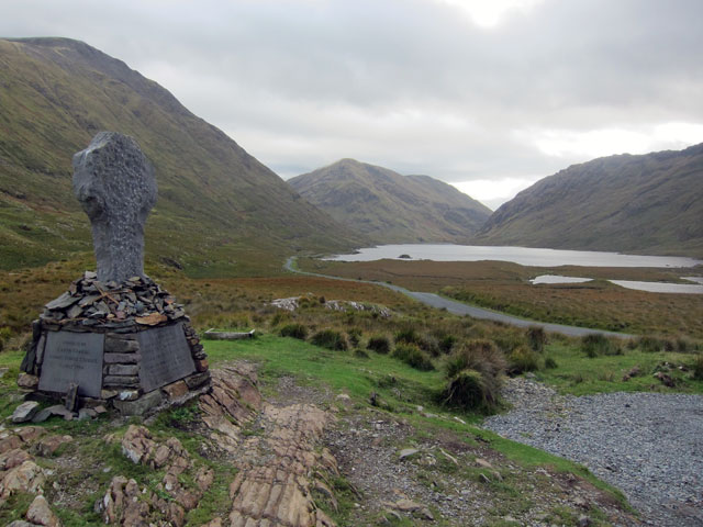 Doo Lough Valley and Famine Monument