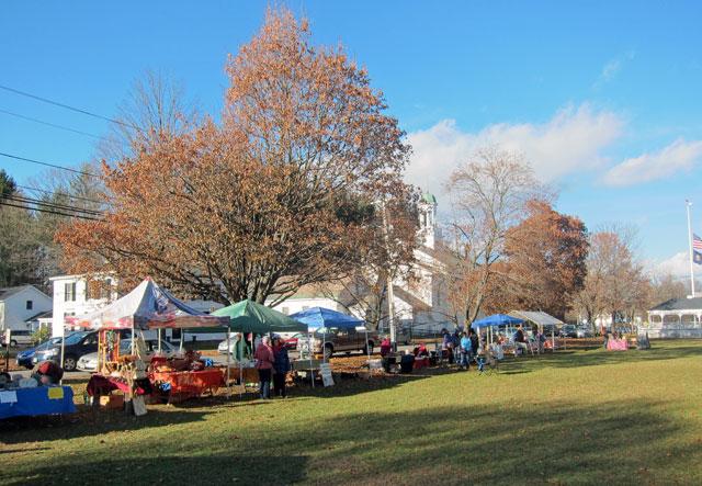 Farmer's Market today in Walpole.