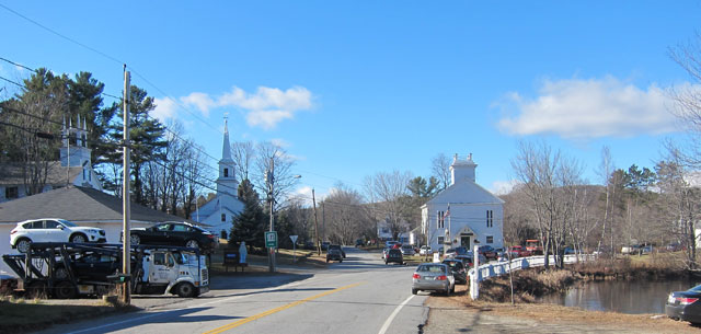 Downtown Marlow, NH