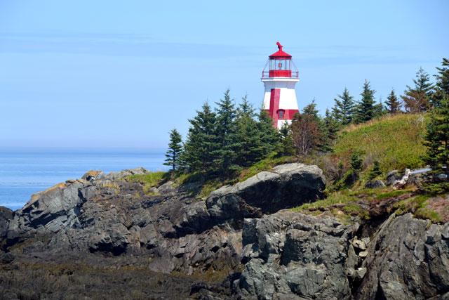 Light house on this island