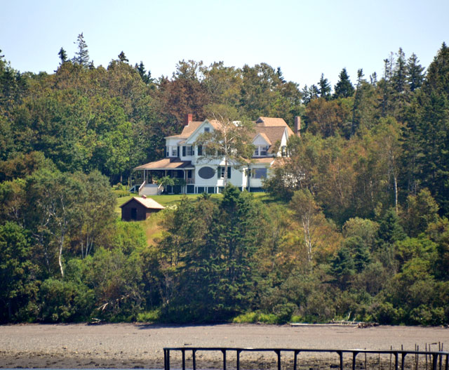 Hubbard Cottage on Campobello island