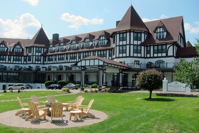The Algonquin Hotel, St. Andrews, NB, Canada