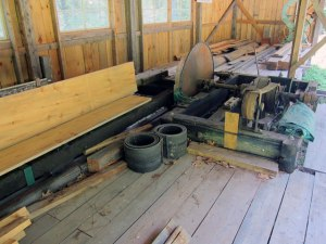 Sawmill at Leonards Mill - Maine Loggin Museum