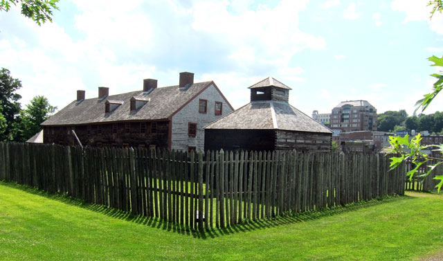 Old Fort Western - Augusta, Maine