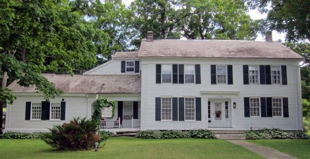 Norman Rockwell's West Arlington, VT home.