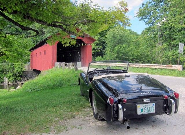 West Arlington, Vermont covered bridge.