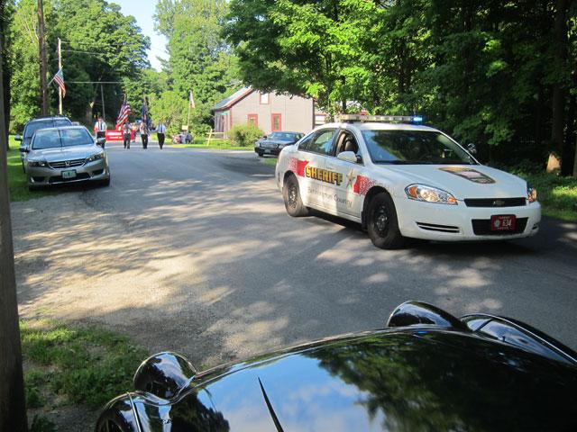 Beginning of Rupert, Vermont's parade 9 August 2014