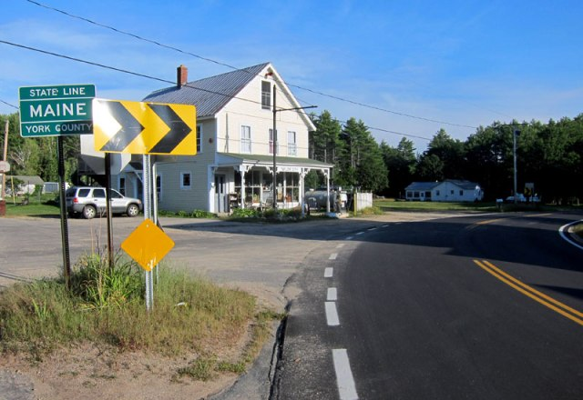 TAYLOR CITY, NEW HAMPSHIRE and MAINE . Population 5.