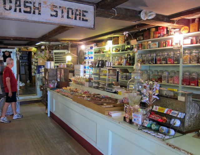 Traditional Candy Counter