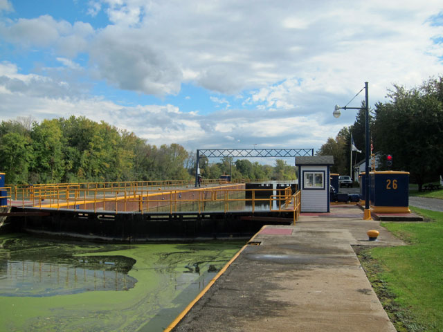 Lock 26 on the NY State Barge Canal
