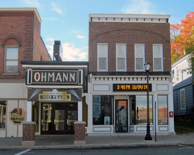 The Ohmann Theatre in Lyons, NY