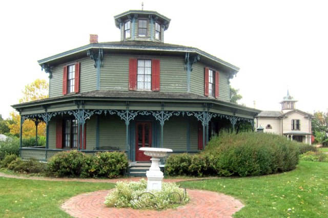 I started at the Octagon House in the Victorian village area.