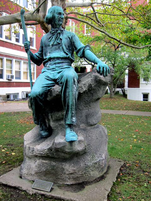Statue of Elbert Hubbard