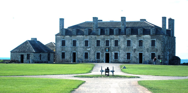 1726 French Castle at Old Fort Niagara