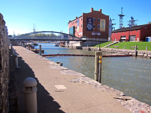 Original Terminus of the Erie Canal in Buffalo