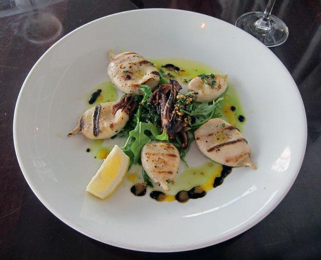 Grilled Calamari.