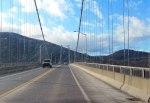 Bear Mountain Bridge heading west.