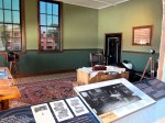 Ford's office recreated from the single extant photograph
