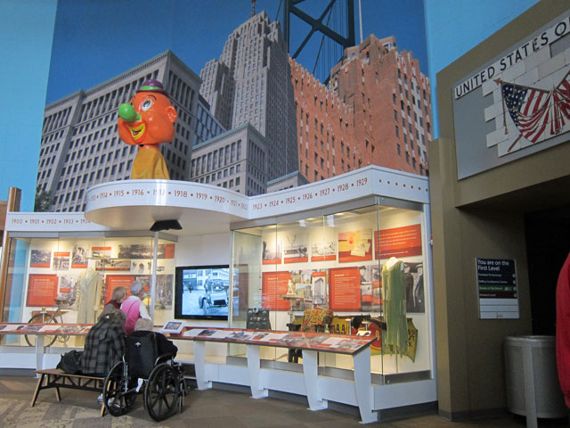 Gallery of Culture in the Detroit Historical Museum