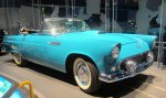 1955 Thunderbird - almost bought one for college, but then got my 1956 Chevy two-door hardtop