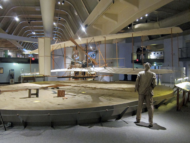 Replica of the Wright's plane