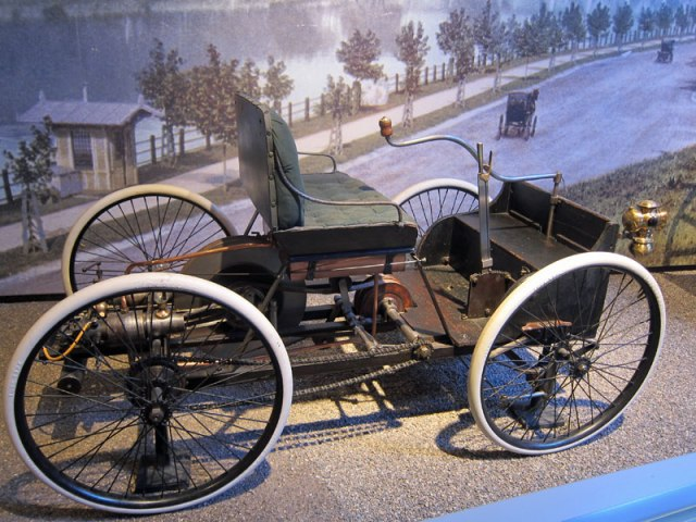 Henry Ford's 1896 Quadricycle