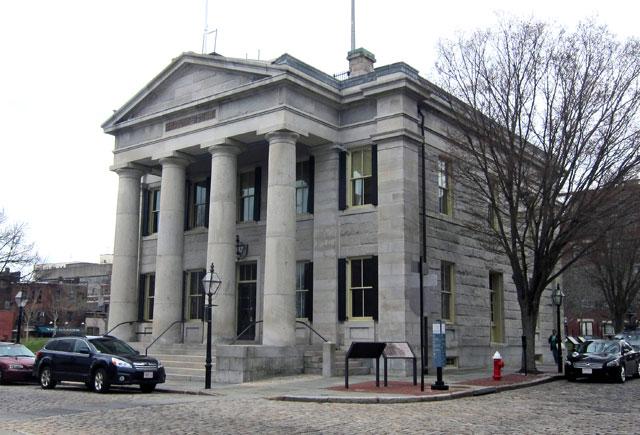 US CUSTOM HOUSE - New Bedford, Massachusetts