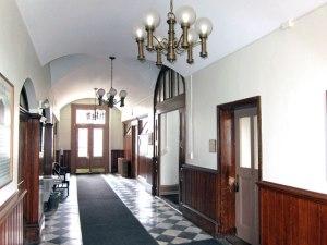 Inside US Customs House, New Bedford, Massachusetts