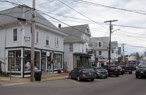 Downtown Vineyard Haven, Massachusetts
