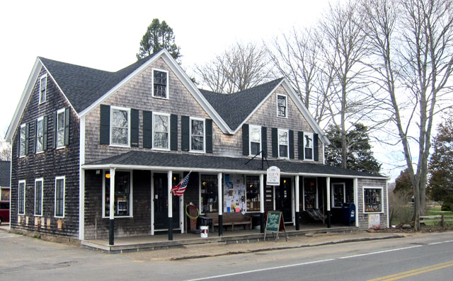 Alley's General Store - 1858 - West Tisbury, Massachusetts