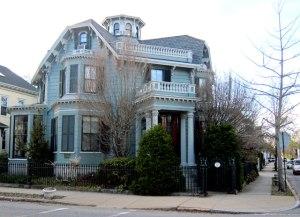Captain Haskell's Octagon House, New Bedford, Massachusetts.