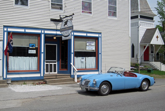 BLUE BELLE at Crows Bakery and Opera House Cafe at Proctorsville, VT