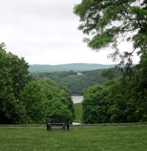 View of the Hudson River from Locust Grove.